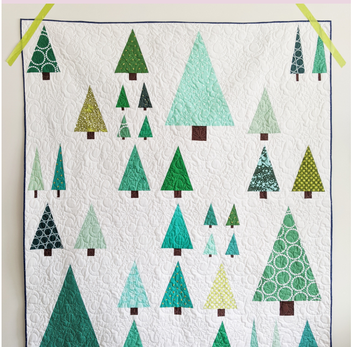 Arboreal (the scrappy tree quilt)