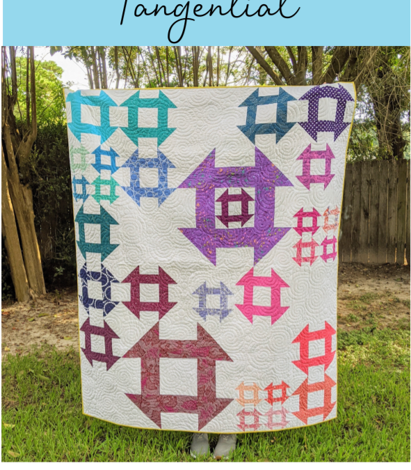 Tangential (the scrappy churn dash quilt)