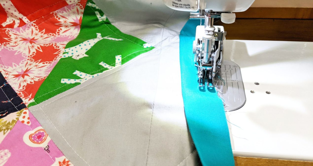 All about quilt binding – how to attach it