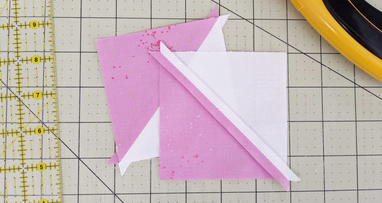 All About Half Square Triangles: How to Make Them (without bias edges!)