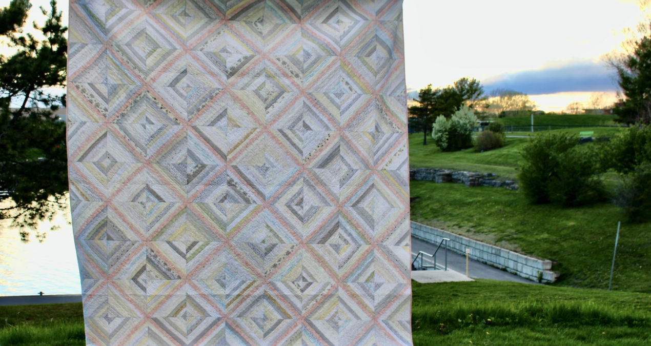 Biased: The String Quilt, now in extended sizes!